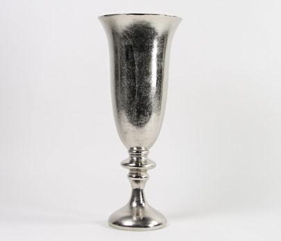 countryfield deko vase 39 alu oakes s 39 58cm geh mmert silber wohnaccessoires vasen andere 3022. Black Bedroom Furniture Sets. Home Design Ideas